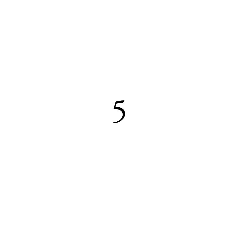 number five poem about patience